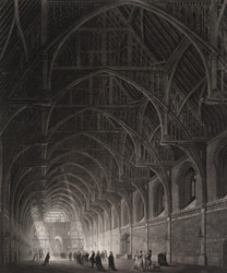 Internal View of Westminster Hall 24-h